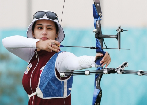 Nada Zeidan - Archery